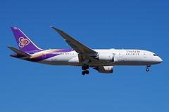 HS-TQA Thai Airways Boeing B787-8 Dreamliner (johnedmond) Tags: perth ypph westernaustralia australia thai boeing b787 787 7878 dreamliner aviation aircraft aeroplane airplane airliner sel55210 55210mm ilce3500 sony