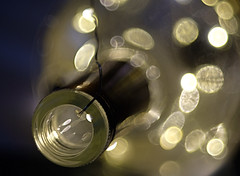 "Wired (SharonCat...) Tags: bubbly twinkle wired lights bokeh bottle hmm ""macromonday"" pentaconav2880 inabottle"