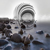 I Have Gone Too Far Now by Simon Hadleigh-Sparks (Atlantis Series) (Simon Hadleigh-Sparks) Tags: abstract art distorted water reflection architecture atlantis fog horizon landscape outdoor simonandhiscamera