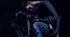 Missing you (Mark Aji) Tags: new old bento black shadow smoke cigarete maitreya signature catwa avatar man sad emotion inme rock music lyrics blue night light art people family