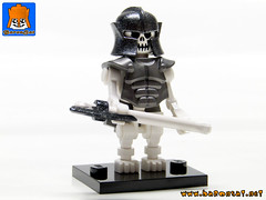 SKELETON ARMY 09 (baronsat) Tags: skeleton army lego minifig custom combo mix warriors battle undead magic game war knight tabletop