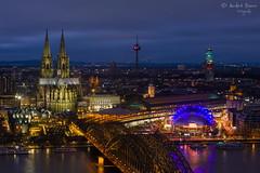 Kölner bei Nacht (ab-planepictures) Tags: köln kölner dom cologne city stadt night nacht nrw deutschland musical dome