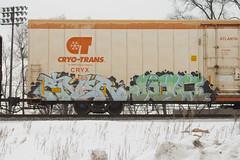 River Silk (Psychedelic Wardad) Tags: freight graffiti uc silk tci river
