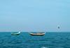 Where sea and water coupled (mh.mahmud92) Tags: sea boat bayofbengal bird nature bluesea water