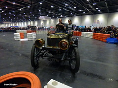 Steamer (BenGPhotos) Tags: 2017 london classic car show historic vintage american 1907 stanley h5 steamer steam powered sv8775