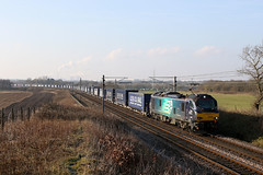 88005 4S43 Redbank 24.02.2018 (Dan-Piercy) Tags: drs class88 88005 redbank 4s43 daventry mossend euroterminal tesco intermodel liner wcml