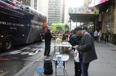 times square (newyork music) Tags: timessquare newyork newyorkcity nyc sidewalk sidewalkvendor streetart occupywallstreet blacklivesmatter jewelry vendor handmade art market midtown manhattan 42ndstreet garmetdistrict street