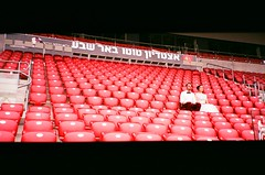 *** (Boris Rozenberg) Tags: filmcommunity analog film analogphotography analogue stadium football 35mmfilm 35mmphototography 35mm red seats panorma groom wedding bride filmphotography filmcamera nikon pointshoot fujifilm fuji fujicolor 200asa ishootfilm buyfilm filmisalive filmisnotdead buyfilmnotmegapixels party friends weddingphotography beersheva beer7 snapshot snap moment love funny looking daily life