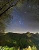 The legend of Orion (Robyn Hooz) Tags: orione orion sirius sirio cadore scorpius scorpione zodiac legend alberi trees stars longexposure 6d