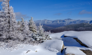 The Presidential Range from Middle Sugarloaf, New Hampshire