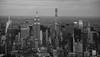 Midtown Manhattan Skyline NYC (THE.ARCH) Tags: empirestatebuilding manhattan nyc newyorkcity newyorkny midtown blackandwhite bw onebryantpark chryslerbuilding 432parkavenue citigroupcenter aia150