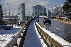 The View Won't Last Forever (Clayton Perry Photoworks) Tags: vancouver bc canada winter sunshine explorebc explorecanada snow skyline georgiaviaducts