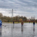 Skating on the ice rink in Odijk, Netherlands - 0762 thumbnail
