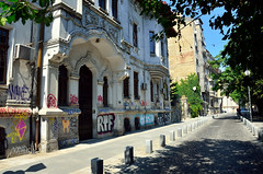 Bucharest Old Centre (Gedsman) Tags: romania europe bucharest wallachia history historical tradition traditional capital beauty travel blueskies modern architecture