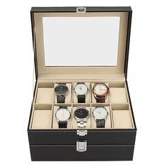 Fashion 20 Slot Wrist Watches Box Black PU Leather Display Watches Case (1123601) #Banggood (SuperDeals.BG) Tags: superdeals banggood jewelry watch fashion 20 slot wrist watches box black pu leather display case 1123601