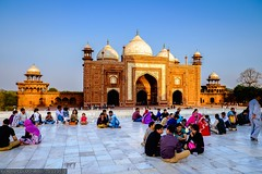 Agra - Taj Mahal - Mihman Khana (The Assembly Hall) (Robert GLOD (Bob)) Tags: tajmahal architecture art building cenotaph construction handicraft mausoleum streetphotography taj tomb unesco agra uttarpradesh in ind india