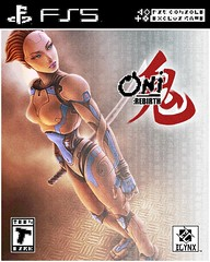 Oni: Rebirth - Game Box Art Design III (hinxlinx) Tags: fan art bungie oni playstation 5 box sequel rebirth ghost katana faux