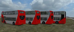 OMSI Red Line WIPs (timothyr673) Tags: omsi nctomsi red bus c400r n230ud n270ud optare eastlancs elc darwen adl alexanderdennis enviro400 e400 e400city scania omnidekka nottinghamcitytransport nct go2