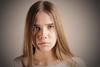 Sophia (raisalachoque) Tags: female beautiful girl longhair shadow eyes face portrait