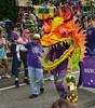 He Went Thataway! (BKHagar *Kim*) Tags: bkhagar mardigras neworleans nola la parade celebration dragon dragons dragonsofneworleans tucks kreweoftucksparade walkers outdoor street napoleon uptown