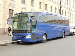 DSCN0244 Baltic Lines, Saint-Petersburg В 595 ХТ 98 (Skillsbus) Tags: buses coaches russia balticlines mercedes o580 travego zenith