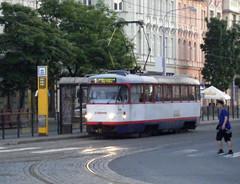 Olomouc tram No. 180 (johnzebedee) Tags: tram transport publictransport vehicle olomouc czechrepublic johnzebedee tatra tatrat3