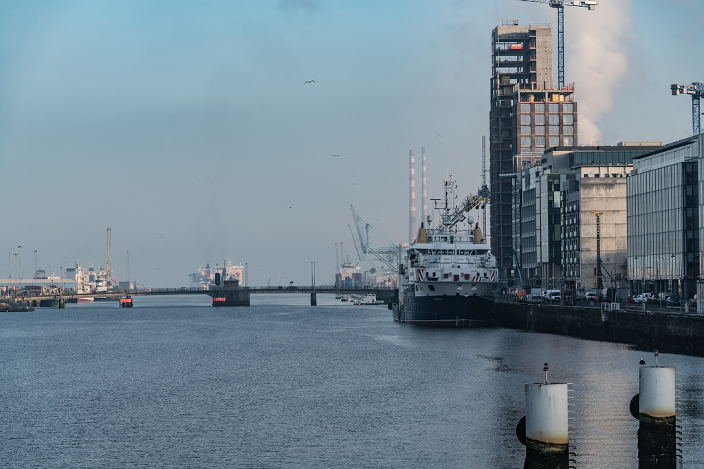 ILV GRANUAILE VISITS DUBLIN [11 JANUARY 2018]-135402