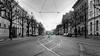 January (Peter Nyström photography) Tags: gray city tram tracks göteborg gothenburg street
