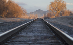 118in2018 #21 oh what a beautiful morning (Karen Juliano) Tags: sunrise morning traintracks railroad mountains colorado early landscape