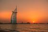 Burj al Arab (Kent Eriksson) Tags: burjalarab dubai sonyrx100m3 sunset hss