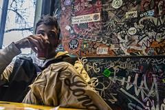Thè alla menta (-biaz) Tags: amsterdam coffeeshop bushdocter graffiti jo