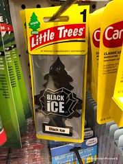Black Ice, tree air freshener (CIAphotos) Tags: airfreshener treeairfreshener tree blackice littletrees deodorant scent