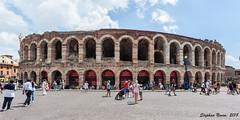Arena di Verona (Stephan Neven) Tags: arena verona piazza bra italy italia amphitheatre theatre landmarks cityscape opera
