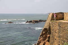 A room with a view (bag_lady) Tags: unescoworldheritagesite srilanka galle dutch portuguese dutchfort gallefort rampartsofgalle archaeological architectural heritagemonument southernprovince