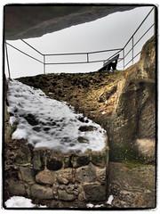 Da oben (1elf12) Tags: bank bench seat burg festung regenstein blankenburg schnee snow germany deutschland castle fort fortress