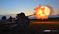 Howitzer (Lerro Photography) Tags: worldwarii wwii reenactment ddayconneaut ohio dday howitzer howitzerboom boom explosion