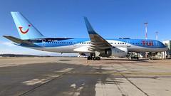 G-OOBD (Breitling Jet Team) Tags: goobd tui airways boeing 757200 euroairport bsl mlh basel flughafen lfsb
