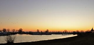 Voor de zonsopkomst / Before the sunrise...14-2-18