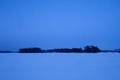 Vasikkasaari (Antti Tassberg) Tags: lumi 24mmts lanscape bluehour nature talvi minimal espoo suomi outdoor 24mm finland lens minimalistic prime scandinavia simplified snow tiltshift winter