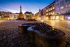 Color pop (Pavel Cervenka Photographer) Tags: olomouc moravia city town square evening dusk colorful wideangle longexposure miniature architecture czech republic pavel cervenka canon eos100d efs1018