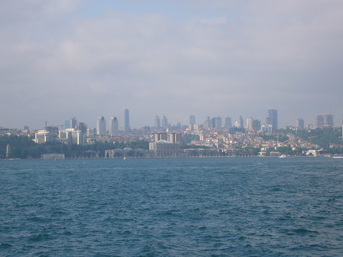 Istanbul, Dolmabahce Palace from Kadikoy ferry [12.06.2011]