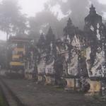 Bali. Early morning fog. Pura Lempuyang Luhur thumbnail