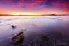 Mar de la tranquilidad (Juan Galián) Tags: water landscape largaexposición longexposure litoral paisaje playa puestadesol murcia mar mediterráneo marina marmenor spain sky sea sunset españa canon60d costa coast cielo agua atardecer