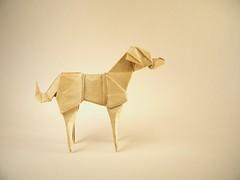 Evie - Jason Ku (Rui.Roda) Tags: origami papiroflexia papierfalten dog chien perro cão cachorro evie jason ku