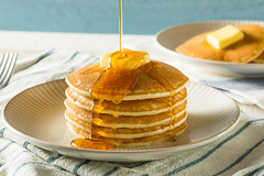 Sweet Homemade Stack of Pancakes (brent.hofacker) Tags: american background baked bakery brunch butter buttermilk cake cooked delicious dessert diet food fresh fried golden gourmet healthy homemade honey hot maple meal morning nutrition pancake pancakes pastry pile plate round rustic sauce snack stack sweet syrup tasty traditional vegetarian yellow