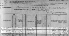 1880 John Huff census