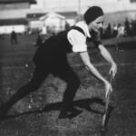 P. Scotton playing hockey for Bundaberg in Bundaberg, 1933 thumbnail