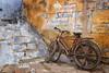 rajasthan - india 2018 (mauriziopeddis) Tags: bundi rajasthan india asia bicycle bici bicicletta landscape blu town città colors street strada