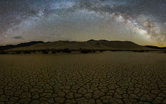 Low Tripod, 14mm Milky Way Panorama (Jeffrey Sullivan) Tags: death valley national park night deathvalley deathvalleynationalpark california usa nature landscape travel photography canon eos 6d jeff sullivan photo copyright april 2017 milkyway astrophotography astronomy starry sky stars