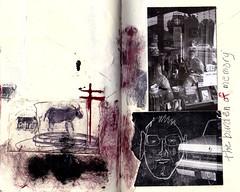 the burden of memory (Bernie Vander Wal) Tags: notebook collage